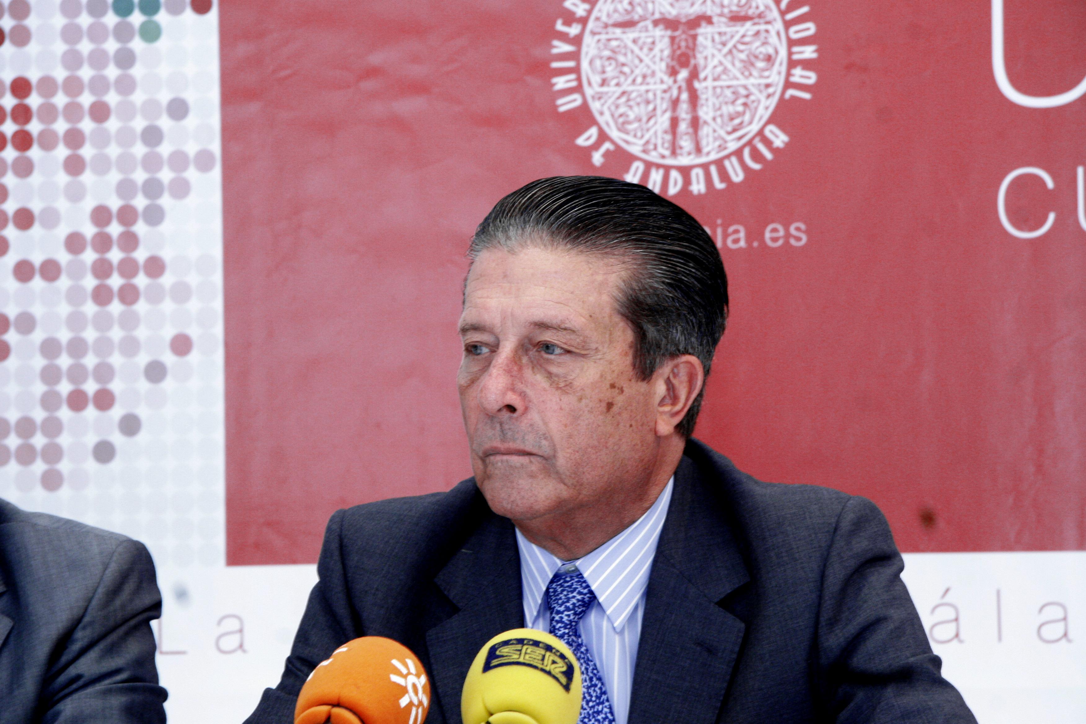 Federico Mayor Zaragoza. Foto Archivo: Universidad Internacional de Andalucía