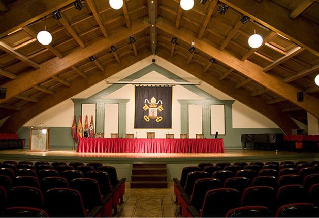 Sede del congreso de Valladolid.
