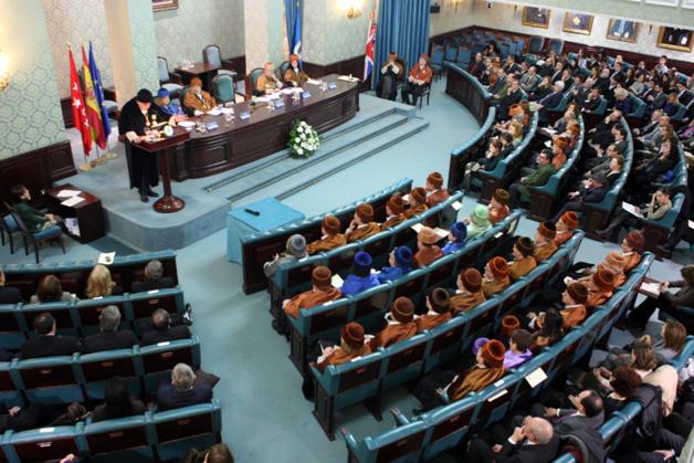 Paraninfo de la UPM, escenario para la presentación de la Cátedra Unesco TECLIN. Foto: UPM.