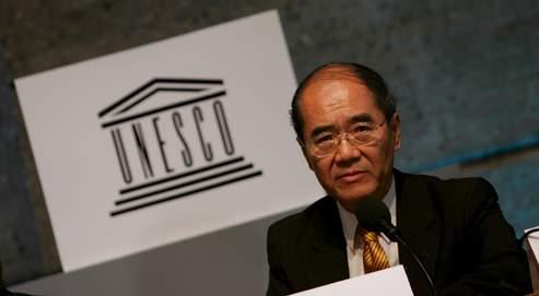 Sr. Koichiro Matsuura, Director General de la UNESCO en 2007.