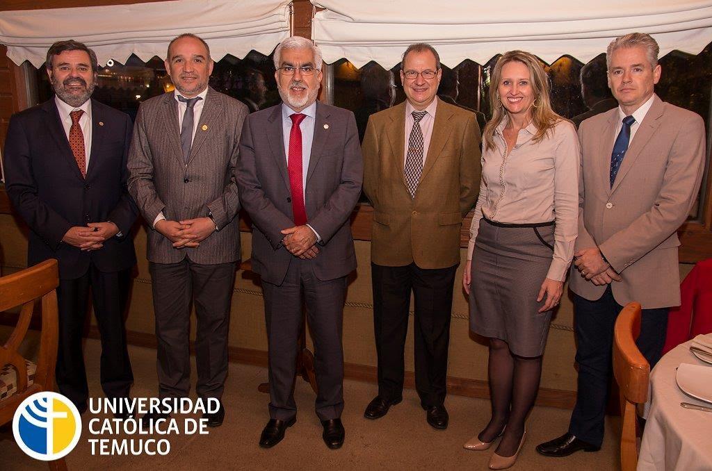 Reunión de la Cátedra en Temucho (Chile), en octubre. Fuente: Universidad Católica de Temuco/Instituto I3G.